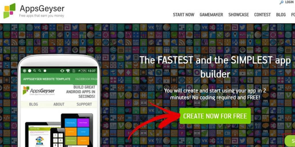 Create Now for Free